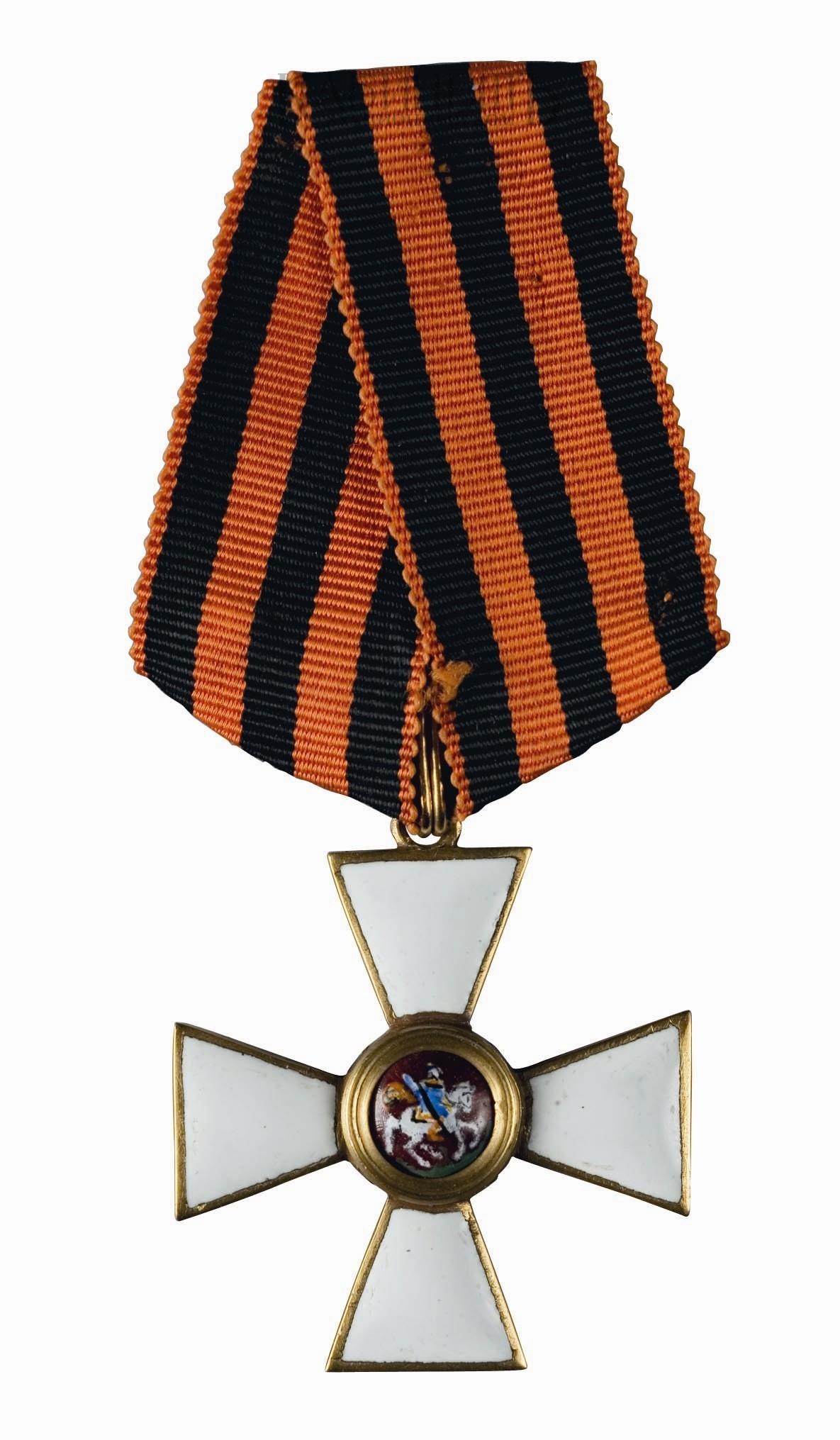 Современные награждения орденом святого георгия