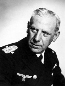 Глава абвера адмирал Фридрих-Вильгельм Канарис