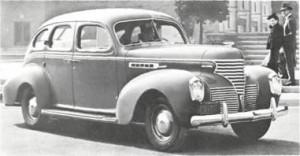 Легковой автомобиль De Soto-S-6 Сustom De Lux, модельный ряд 1939 года