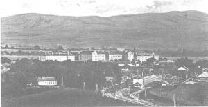 Панорама Белой Црквы, которую кадеты видели из уходящего поезда 10 сентября 1944 г.