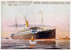 Шведский пассажирский лайнер Дроттнингхольм