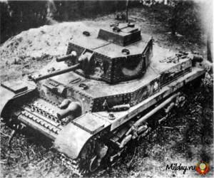 Венгерский танк Туран. 1944 г.