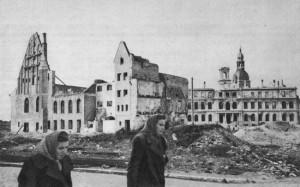 Рига вскоре после освобождения. Конец октября 1944 г.