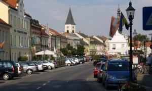 Город Гмюнд, где 1-й Русский кадетский корпус действовал в феврале-апреле 1945 г.