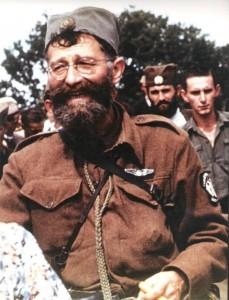 Лидер четников генерал Драголюб (Дража) Михаилович
