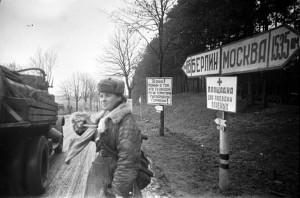 На подступах к Берлину. Апрель 1945 г.