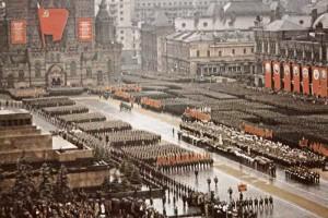 Парад Победы в Москве 24 июня 1945 г.