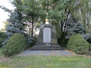 Памятник кадетам на Ново-Дивеевском кладбище. Сентябрь 2013 г.