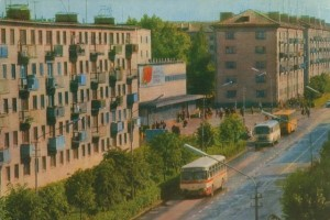Полоцк, улица Гоголя, вторая половина 1970-х гг.