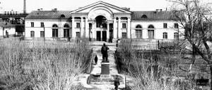 Полоцк. Железнодорожный вокзал. 1970 г.