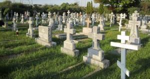 Самое большое русское кладбище в США - Ново-Дивеевское. Здесь похоронен Сергей Семченко. Сентябрь 2013 г.