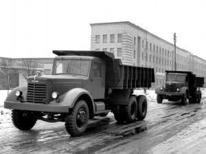 Самосвал ЯАЗ-210Е