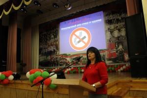 Профилактика табакокурения в лицеи при ГИИ МЧС Республики Беларусь