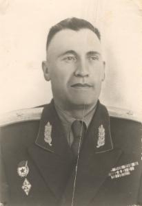 Генерал – майор А. И. Крючков (1954-1955 гг.)