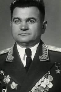 Генерал – майор П. Р. Саенко (1956-1969 гг.)
