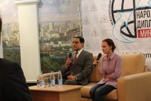 Работа Международного дискуссионного клуба «Народная дипломатия»